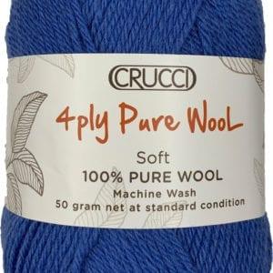 Crucci 4ply pure wool