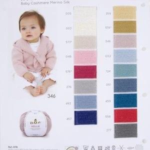 Hollie Baby Cashmere Merino Silk - DM8116